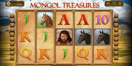 Mongol Treasures von Endorphina