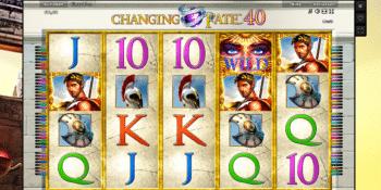 Changing Fate 40 – tolle Gewinne mit Freispielen und Bonus
