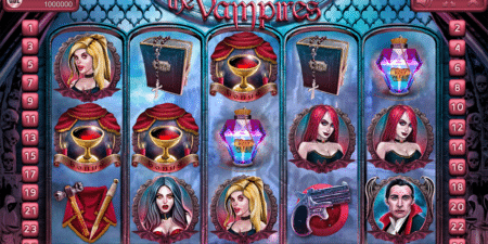 The Vampire – ein Endorphina Slot der gruseligen Art